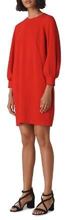 Whistles Thiara Textured Dress