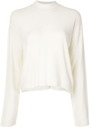 ALALA Vedder plain sweatshirt