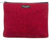 Kate Spade Herringbone Cosmetic Bag
