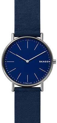 Skagen Signatur Blue Watch, 40mm