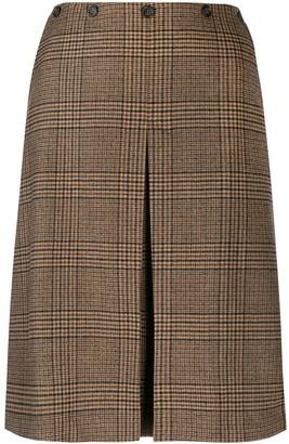 Aspesi Front Slit Skirt