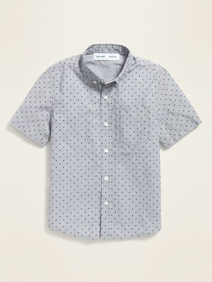 Old Navy Built-In Flex Pocket Shirt for Boys