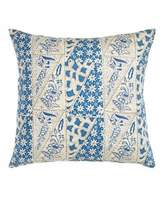"Pine Cone Hill Cana Blue Pillow, 22""Sq."