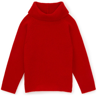 Jigsaw Ribbed Front Cowl Neck Sweater
