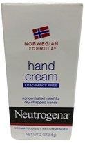 Neutrogena Norwegian Formula Hand Cream, Fragrance Free, 2 oz (Pack of 3)