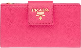 Prada Medium Saffiano Wallet