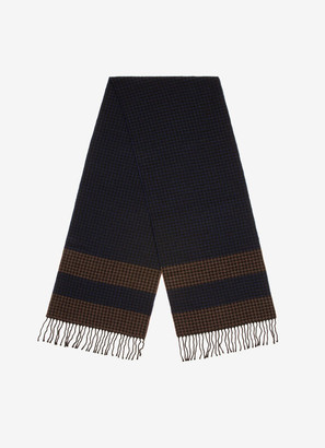 Bally Houndstooth Scarf