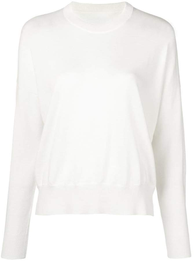MM6 MAISON MARGIELA elbow patch pull-on sweater