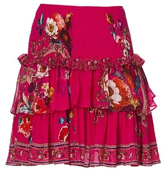 Camilla Then, Now, Ever After Layered Frill Skirt