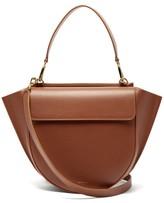 Wandler Hortensia Medium Leather Cross-body Bag - Womens - Tan