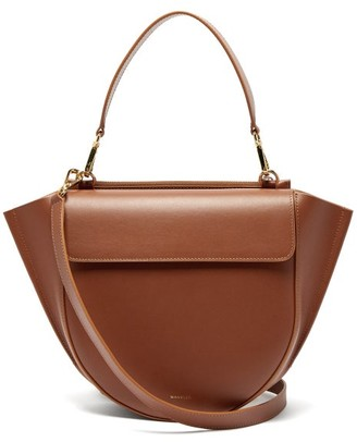 Wandler Hortensia Medium Leather Cross-body Bag - Tan