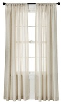 Threshold Leno Weave Sheer Curtain Panel