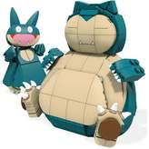 Mega Bloks Mega Construx Pokémon Snorlax and Munchlax Building Set