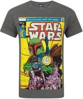 Star Wars Official Boba Fett Comic Men's T-Shirt (XXL)
