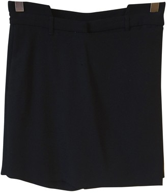 Givenchy Black Wool Shorts for Women