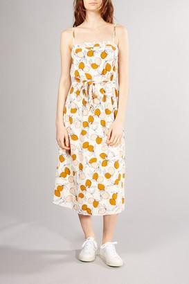 Des Petits Hauts Printed Ecru Rafalia Dress - XSMALL