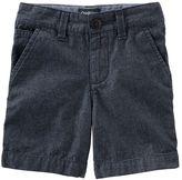 Osh Kosh Toddler Boy Flat-Front Chambray Shorts