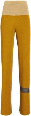 Missoni Two Tone Flare Knit Pants