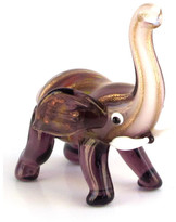 Fitz & Floyd Reginald Glass Elephant Figurine