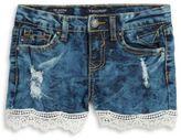 Vigoss Little Girls Distressed Jean Shorts