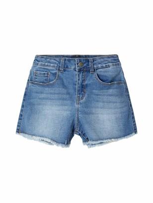 Name It Girl's Nkfrandi Mom Dnmcece 1345 Hw Shorts Noos