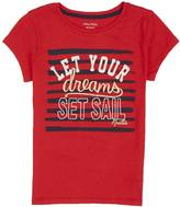 Nautica Little Girls' Set Sail Dreams Tee (2T-7)