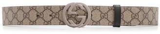 Gucci GG Supreme Reversible Belt