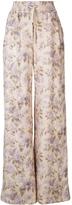 Zimmermann Wide Leg Floral Snap Pant