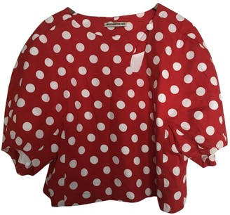 Erotokritos Red Cotton Top for Women