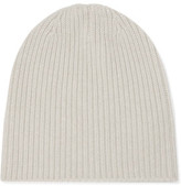 Duffy Ribbed Cashmere Beanie