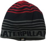 Caterpillar Men's Branded Stripe Cap