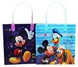 Disney Small Assorted Mickey Mouse and Donald Duck Gift Bag Set (2 Piece)