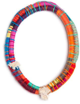 Cuyo By Tamika Rivera Ako Cotton & Wool 27In Endless Necklace