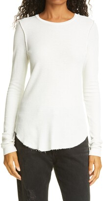 NSF Yulia Long Sleeve Cotton Thermal Top