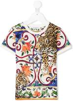 Dolce & Gabbana tiger print T-shirt
