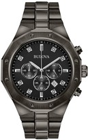 Bulova Men's Diamond Chronograph Gray Watch