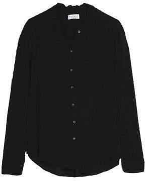 Velvet by Graham & Spencer Swiss-Dot Twill Shirt