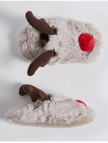 Marks and Spencer Baby Faux Fur Pram Shoes