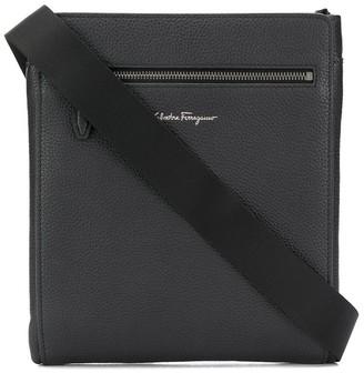 Salvatore Ferragamo Zip Pocket Messenger Bag