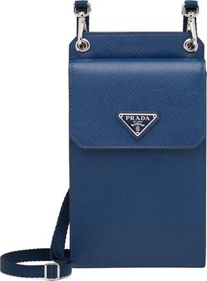 Prada Saffiano strap phone cover