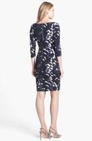 Tart 'Harmony' Print Ponte Knit Body-Con Dress