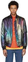 Kenzo Multicolor Rainbow Bomber Jacket