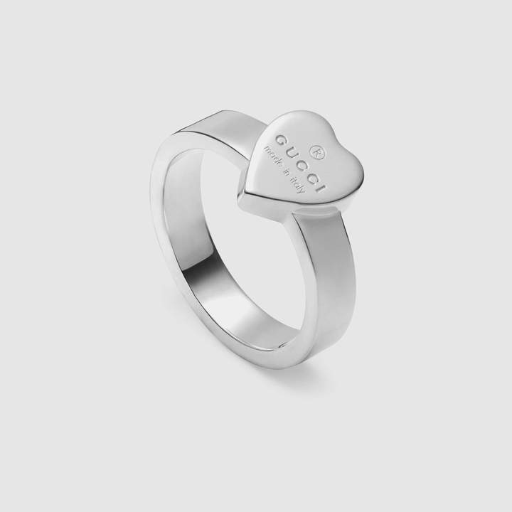 2a5fa4c3c7f500 Gucci Heart Ring - ShopStyle UK