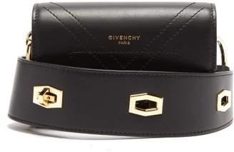 Givenchy Eden Smooth-leather Belt Bag - Womens - Black
