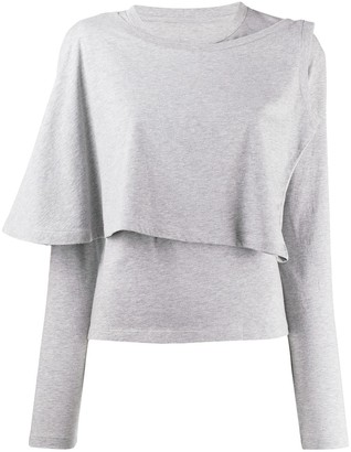 MM6 MAISON MARGIELA long sleeved knitted top