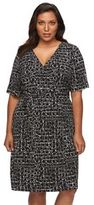 Apt. 9 Plus Size Faux-Wrap Dress