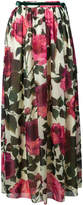 Blugirl floral print pleated skirt