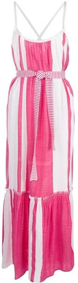 Lemlem Zoya striped beach dress