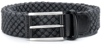 Andersons Anderson's check stitch detail belt