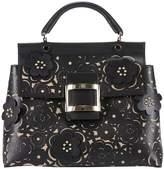 Roger Vivier Handbag Viv 'cabas Tango Skin Guipure Bag